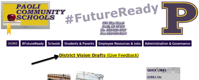 Corporation Vision Statement Feedback